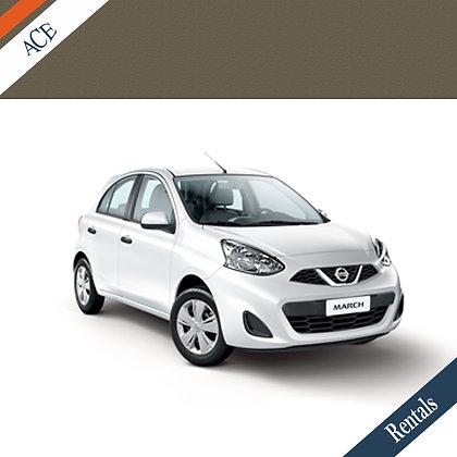 Nissan March - Car Rental