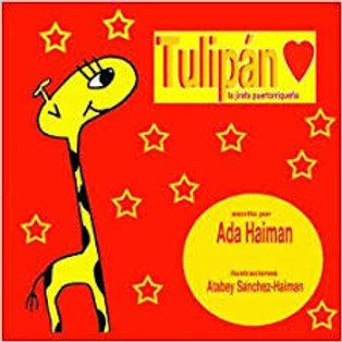 Tulipán, la jirafa puertorriqueña