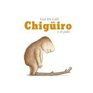 Chigüiro y el palo