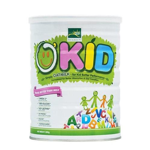 Biogreen 兒童燕麥植物奶 |  Biogreen O'Kid Oatmilk for Kid