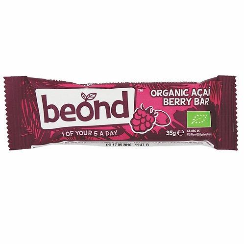 BEOND 有機覆盆子巴西莓棒 | Organic Raspberry & Acai Bar