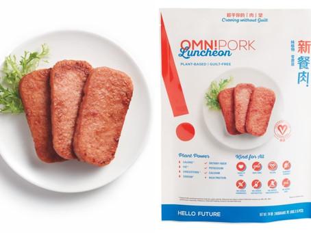 OmniFoods 推出純素植物餐肉 OmniPork Luncheon 新餐肉