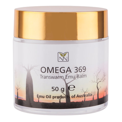 Y-NOT NATURAL Omega 369 Transwarm Emu Balm