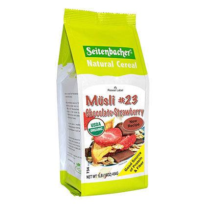 SEITENBACHER  牛奶雜錦早餐#23 有機朱古力和士多啤梨麥片 | Musli #23 Organic Chocolate & Strawberry