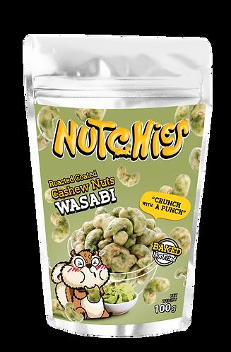 Nutchies 日式芥末風味脆脆腰果 | Wasabi Roasted Coated Cashews