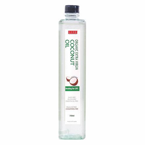 L.I.F.E. 有機冷壓初榨椰子油 | Organic Cold-pressed Extra Virgin Coconut Oil