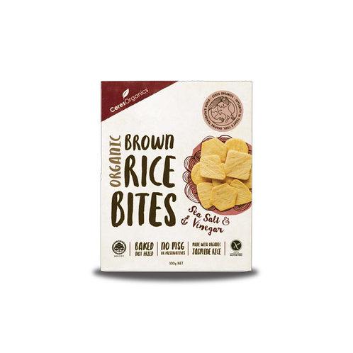 Ceres Organics 有機米餅 (海鹽,醋) | Organic Brown Rice Crackers (Sea Salt & Vinegar)