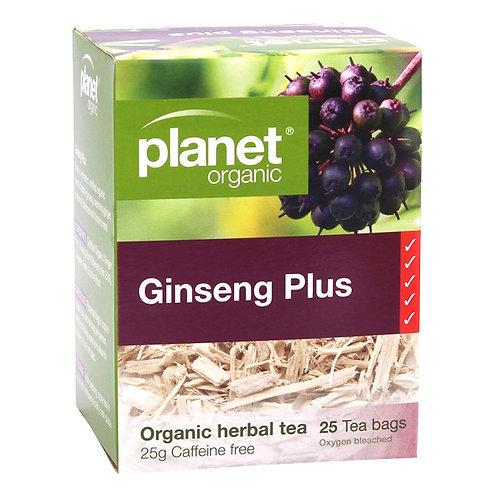 PLANET ORGANIC Ginseng Plus Teabags