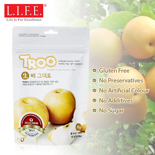 L.I.F.E. Korean Natural Freeze-dried Fruits | 韓國天然冷凍乾果