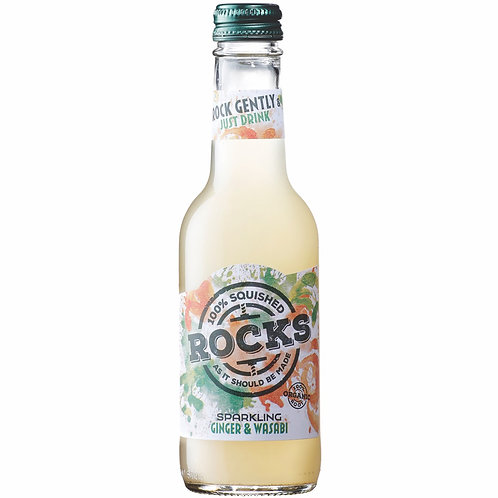 ROCKS 有機薑和芥末飲品 (有氣) | Organic Sparkling Ginger & Wasabi