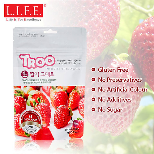 L.I.F.E. Korean Natural Freeze-dried Fruits | 韓國天然冷凍乾果