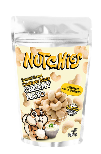 Nutchies 滋味沙律醬脆脆腰果 | Creamy Mayo Roasted Coated Cashews