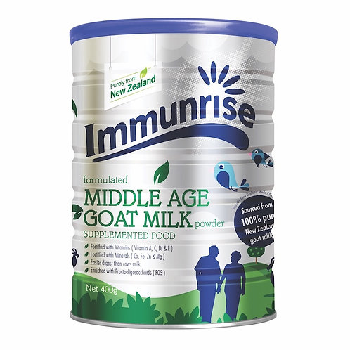 IMMUNRISE 中老年裝羊奶粉 | Formulated Middle Age Goat Milk Powder