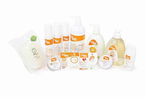 BABY GAGA 有機嬰童護膚系列 | Organic Baby Care