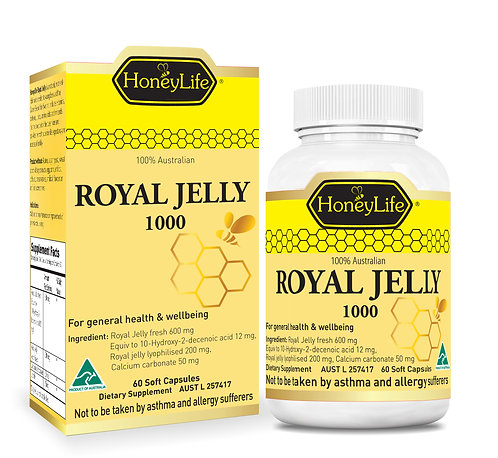 HoneyLife 澳蜂寶蜂皇漿 | Royal Jelly