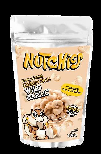 Nutchies 惹味香蒜風味脆脆腰果 | Wild Garlic Roasted Coated Cashews