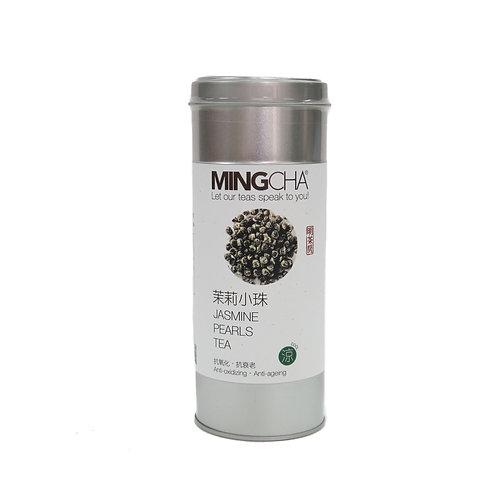 MingCha 茉莉小蜜珠 | Jasmine Pearls Green Tea