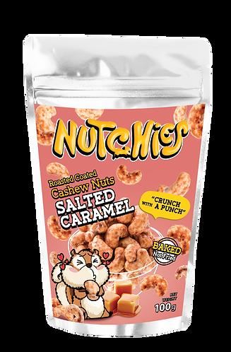Nutchies 鹽味焦糖風味脆脆腰果 | Salted Caramel Roasted Coated Cashews