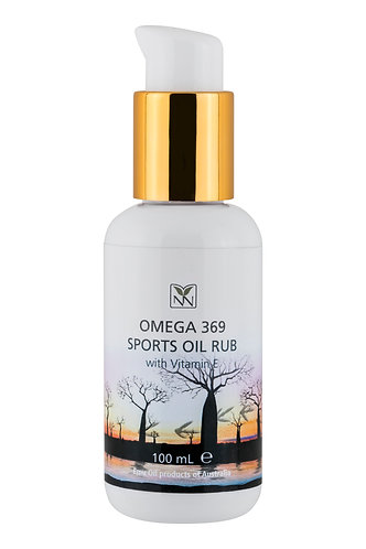 Y-NOT NATURAL Omega 369 Sports Oil Rub with Vitamin E