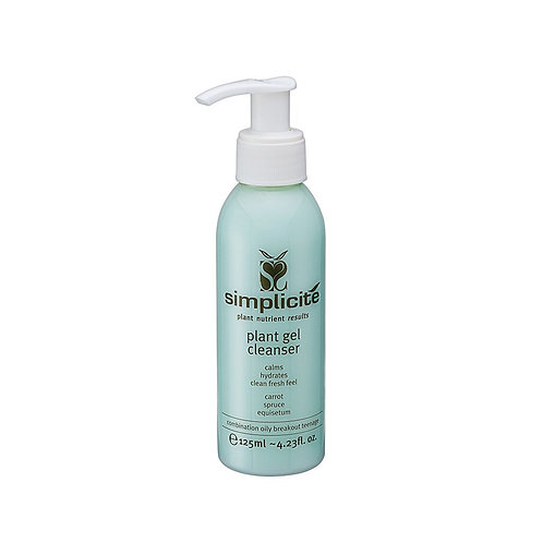 Plant Gel Cleanser Combination/Oily