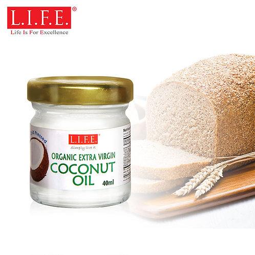 L.I.F.E. Organic Extra-virgin Cold-pressed Coconut Oil | 有機呵護肌膚系列 - 有機冷壓初椰子油
