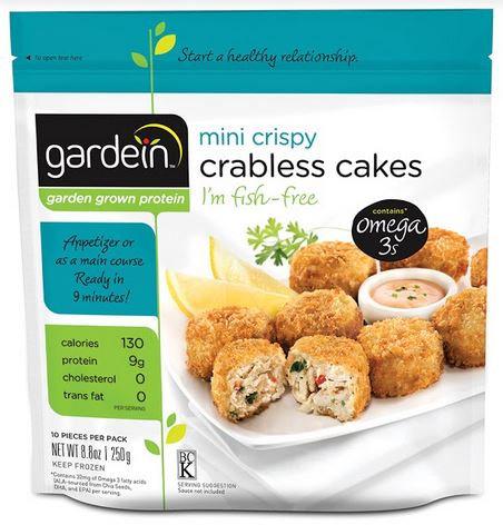GARDEIN 素蟹肉塊 | GARDEIN Crabless Cakes