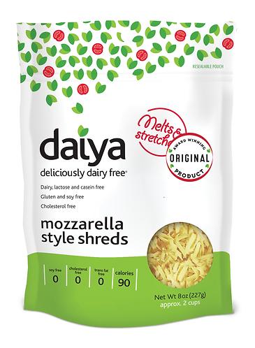 DAIYA 純素水牛芝士碎條 | DAIYA Vegan Mozzarella Shreds