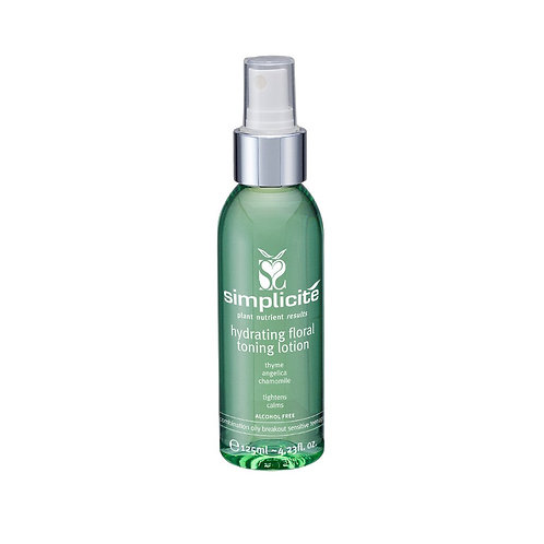 Hydrating Floral Toning Lotion Combination/Oily