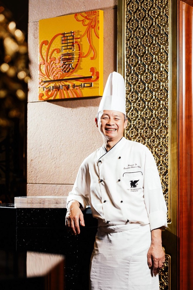 JW Marriott Hotel Hong Kong's Executive Chef Ip Kwok-Fai