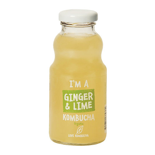 LOVE KOMBUCHA有機薑青檸紅茶菌飲品 | Organic Ginger & Lime Kombucha