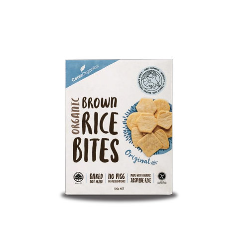 Ceres Organics 有機米餅 (原味) | Organic Brown Rice Bites (Original)