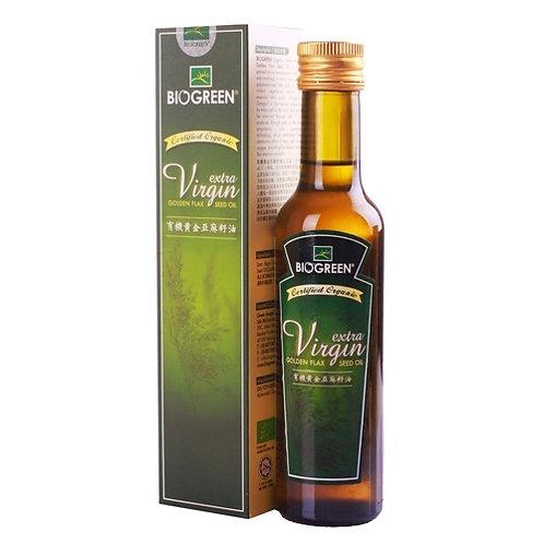 Biogreen 有機驗證黃金亞麻子油 - 原味 |  Biogreen Extra Virgin Golden Flax Seed Oil