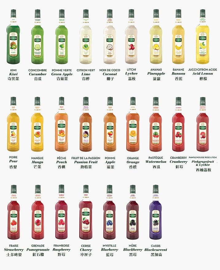 Teisseire fruit range