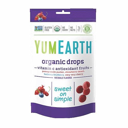 YUMEARTH 有機維他命C糖 | Organic Vitamin C Antioxidant Fruit Drops