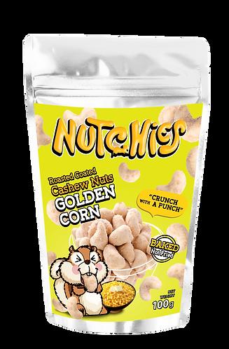 Nutchies 香甜粟米風味脆脆腰果 | Golden Corn Roasted Coated Cashews