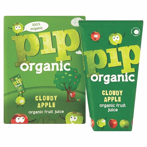 PIP ORGANIC 有機蘋果汁 | Organic Cloudy Apple Juice