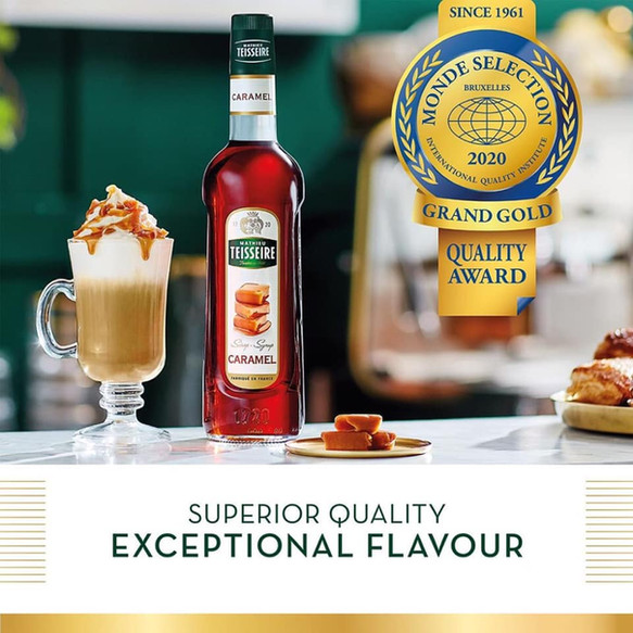 Teisseire - the No.1 syrup brand in France