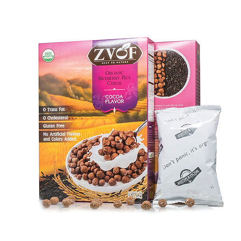 ZVOF 有機紫莓香糙米 | Organic Riceberry Rice Cereal