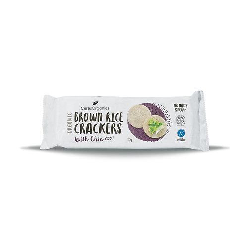 Ceres Organics 有機糙米餅乾 (奇亞籽) | Organic Brown Rice Crackers (Chia)