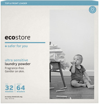 ecostore LAUNDRY POWDER, TOP & FRONT LOADER