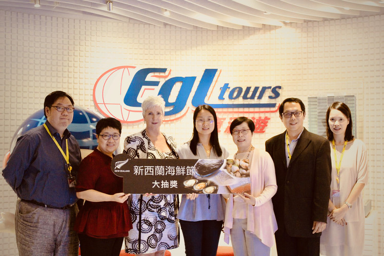 EGL Tours as Grand Prize Sponsor for New Zealand Seafood Festival