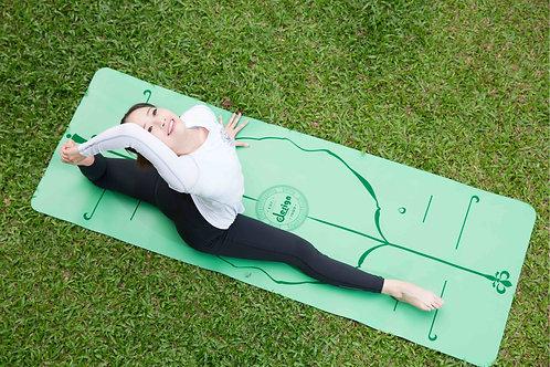CLESIGN 專業級 環保碳纖維乳膠瑜珈墊 Professional YOGA MAT - GREEN™