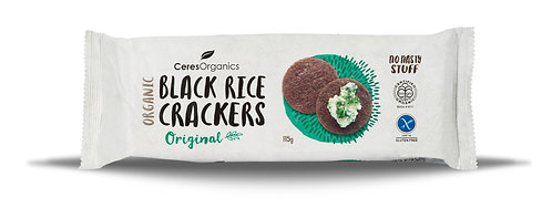 Ceres Organics 有機黑米餅 (原味) | Organic Black Rice Crackers (Original)