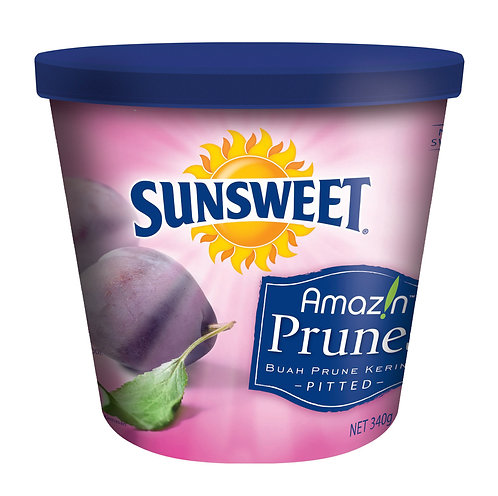SUNSWEET 日光牌去核西梅乾 340克 (膠罐裝) |  SUNSWEET Pitted Prunes 340g (Canister)