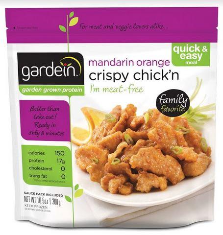 GARDEIN 脆脆素雞柳(甜酸柑橘汁)  | GARDEIN Crispy Chick'n Mandarin Orange