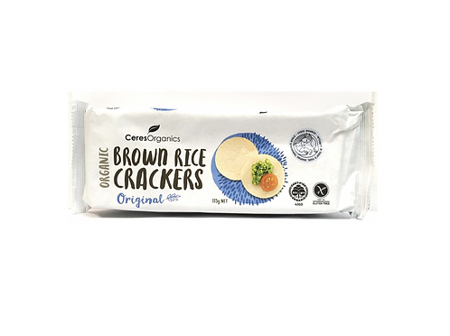 Ceres Organics 有機糙米餅 (原味) | Organic Brown Rice Crackers (Original)