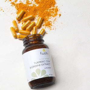 Fushi Turmeric C3 & Bioperine Extract Supplement
