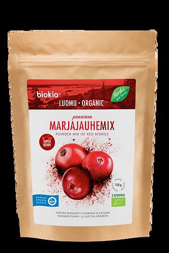 Biokia 超級漿果粉-紅色雜莓 | Super Berries Powder–Red Berries Mix