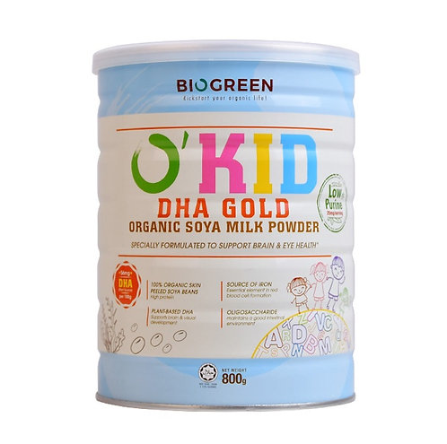 Biogreen DHA 有機大豆奶粉