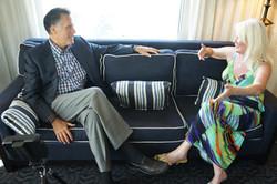 Mitt Romney Daphne Barak